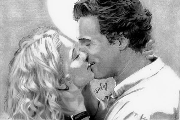 Matthew McConaughey, Kate Hudson by Deberg